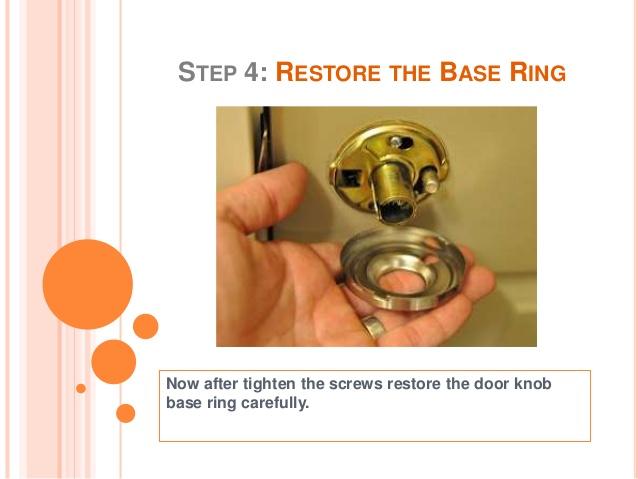 fixing loose door knob photo - 15