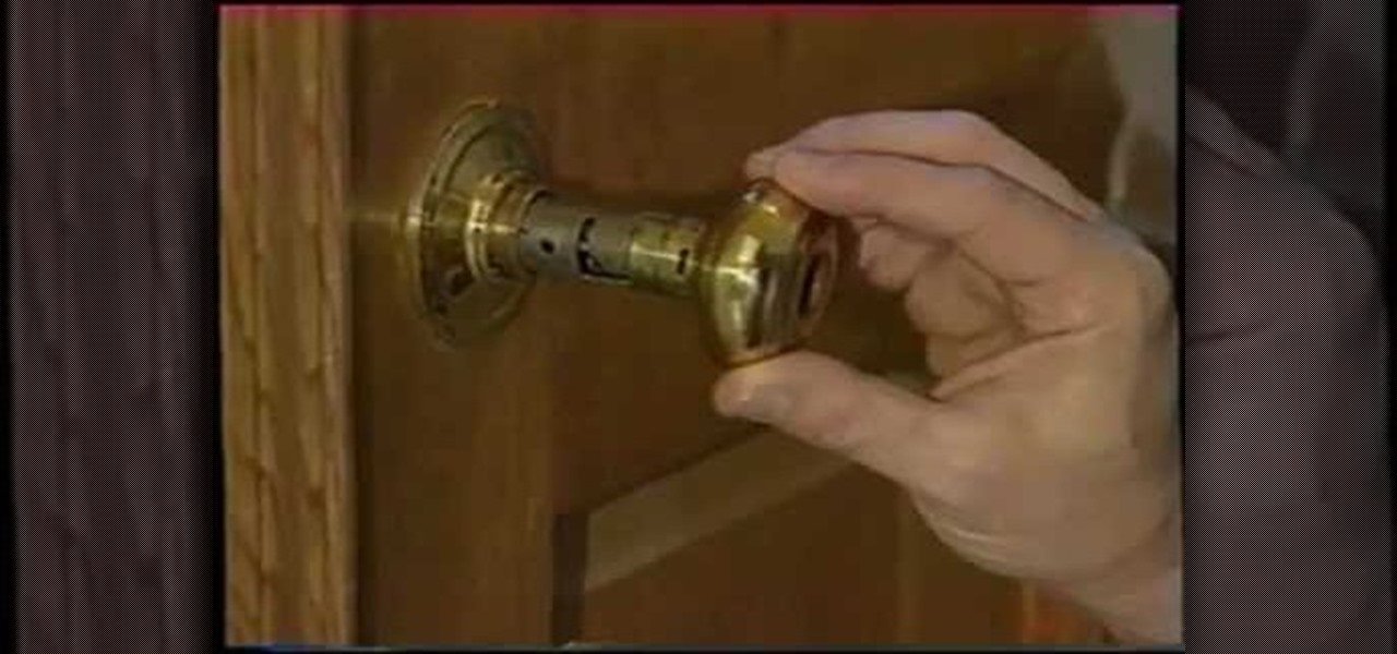 fixing loose door knob photo - 4