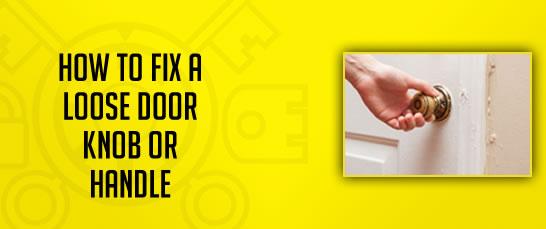 fixing loose door knob photo - 5