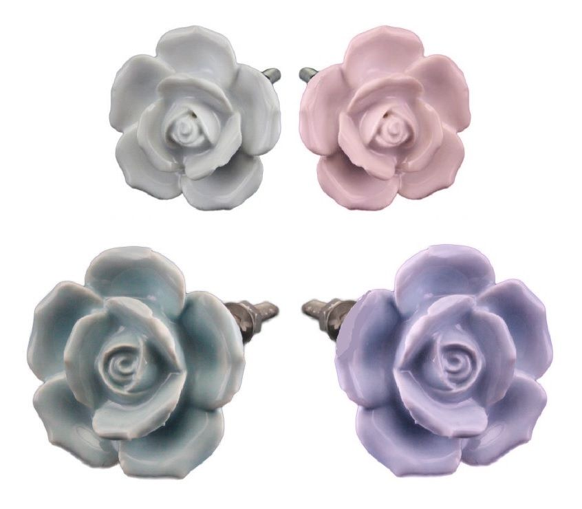 floral door knobs photo - 11