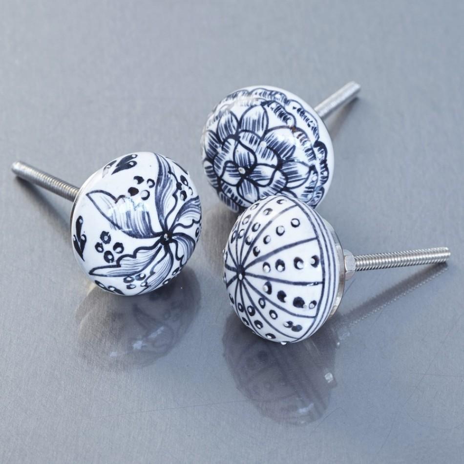 floral door knobs photo - 4