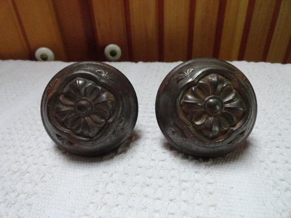 floral door knobs photo - 7