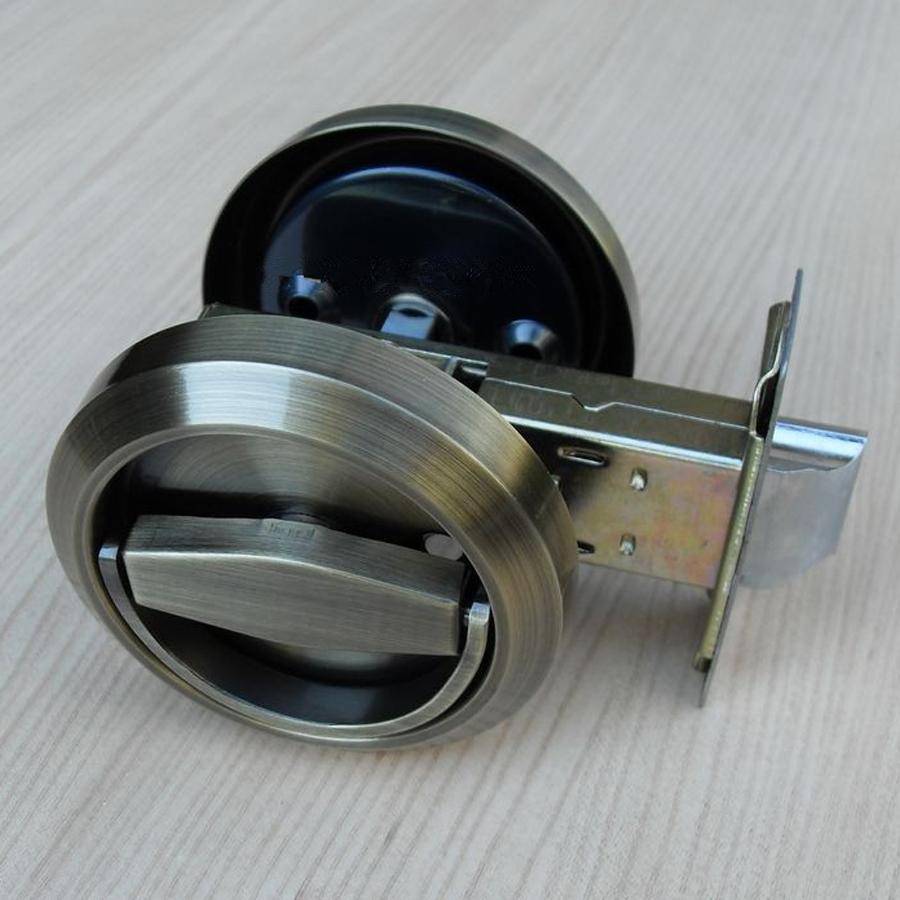 flush mount door knob photo - 12