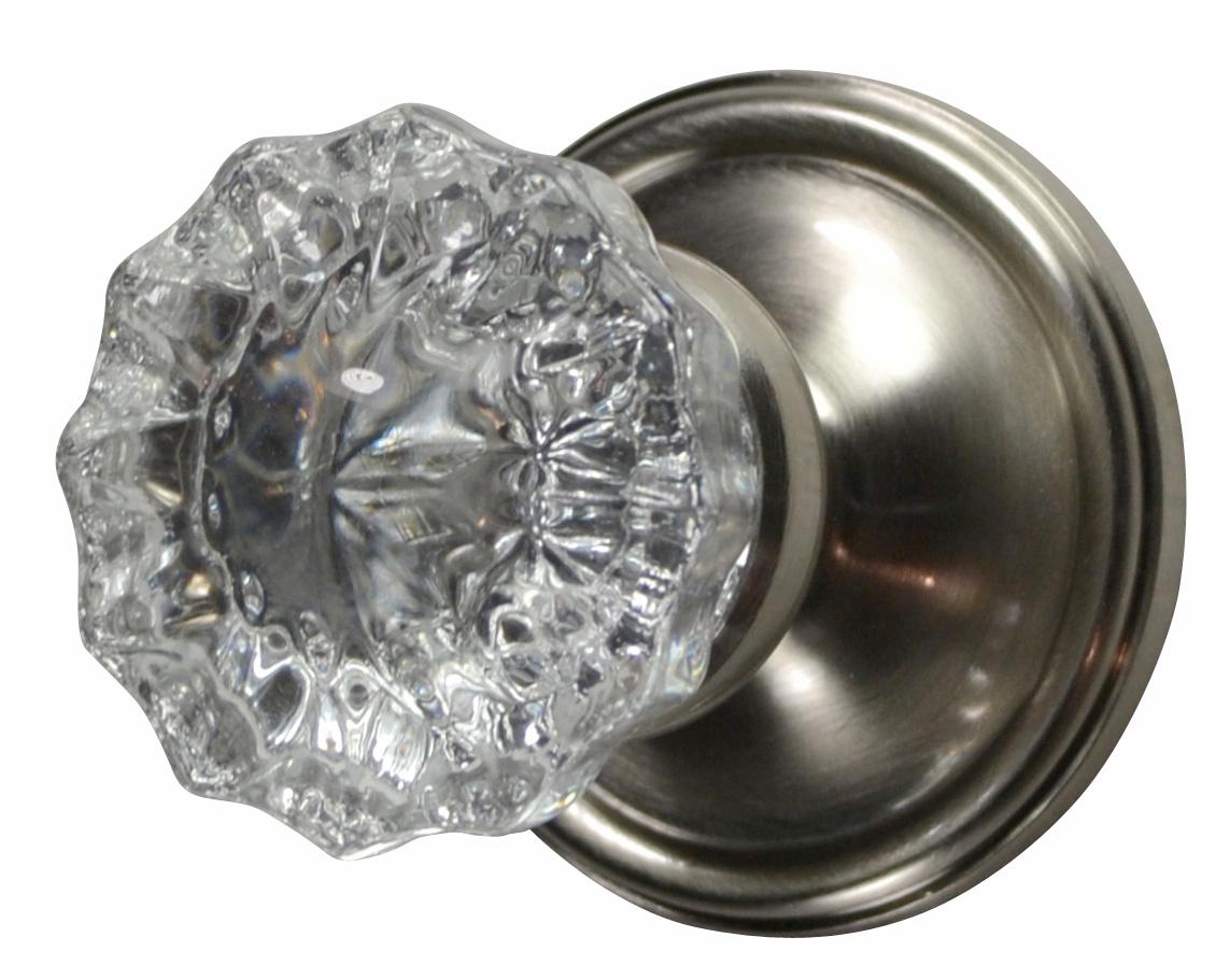fluted glass door knobs photo - 6
