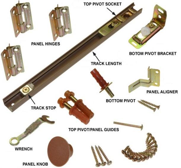 folding door knobs photo - 15