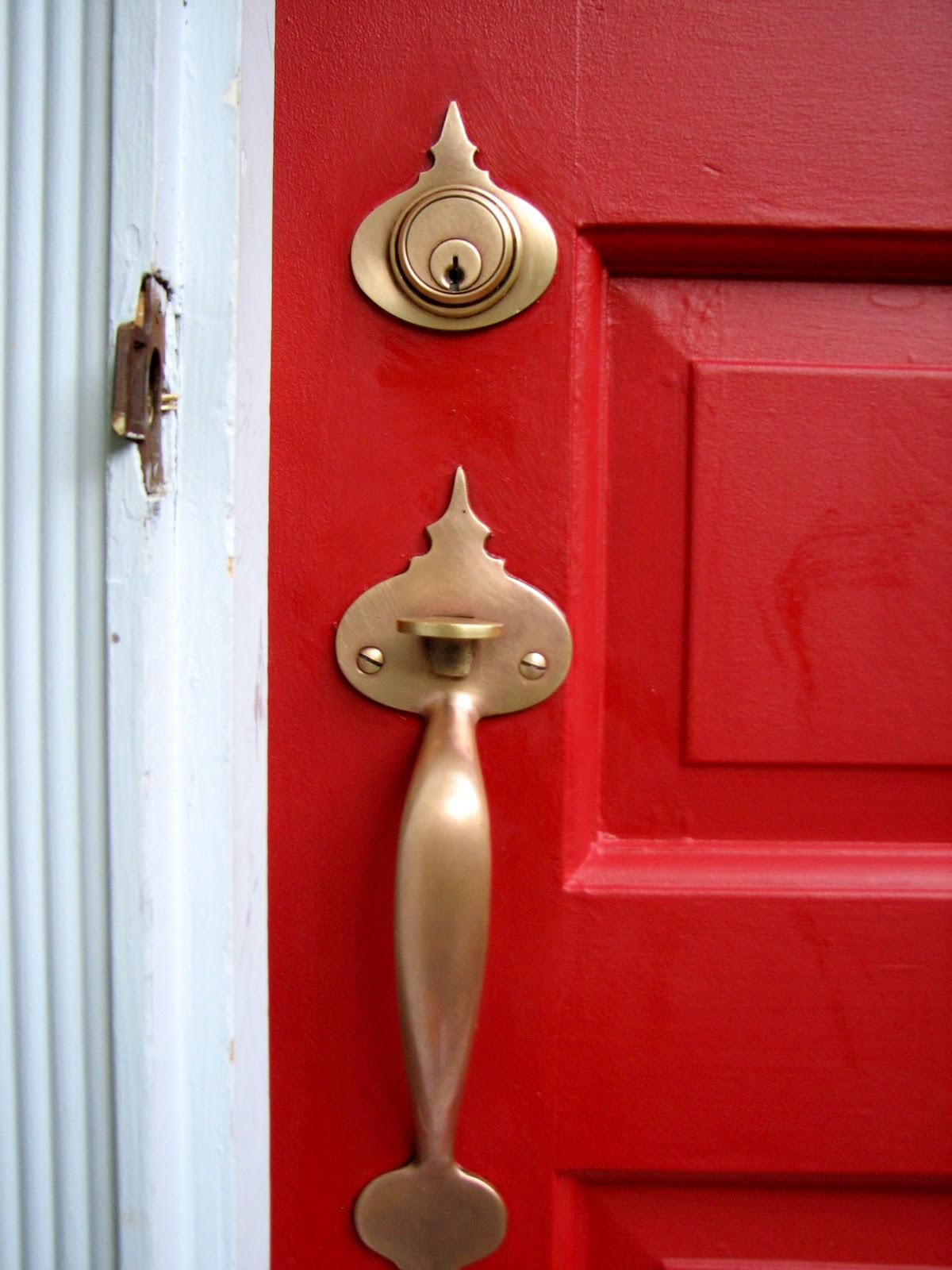 front door knob photo - 16