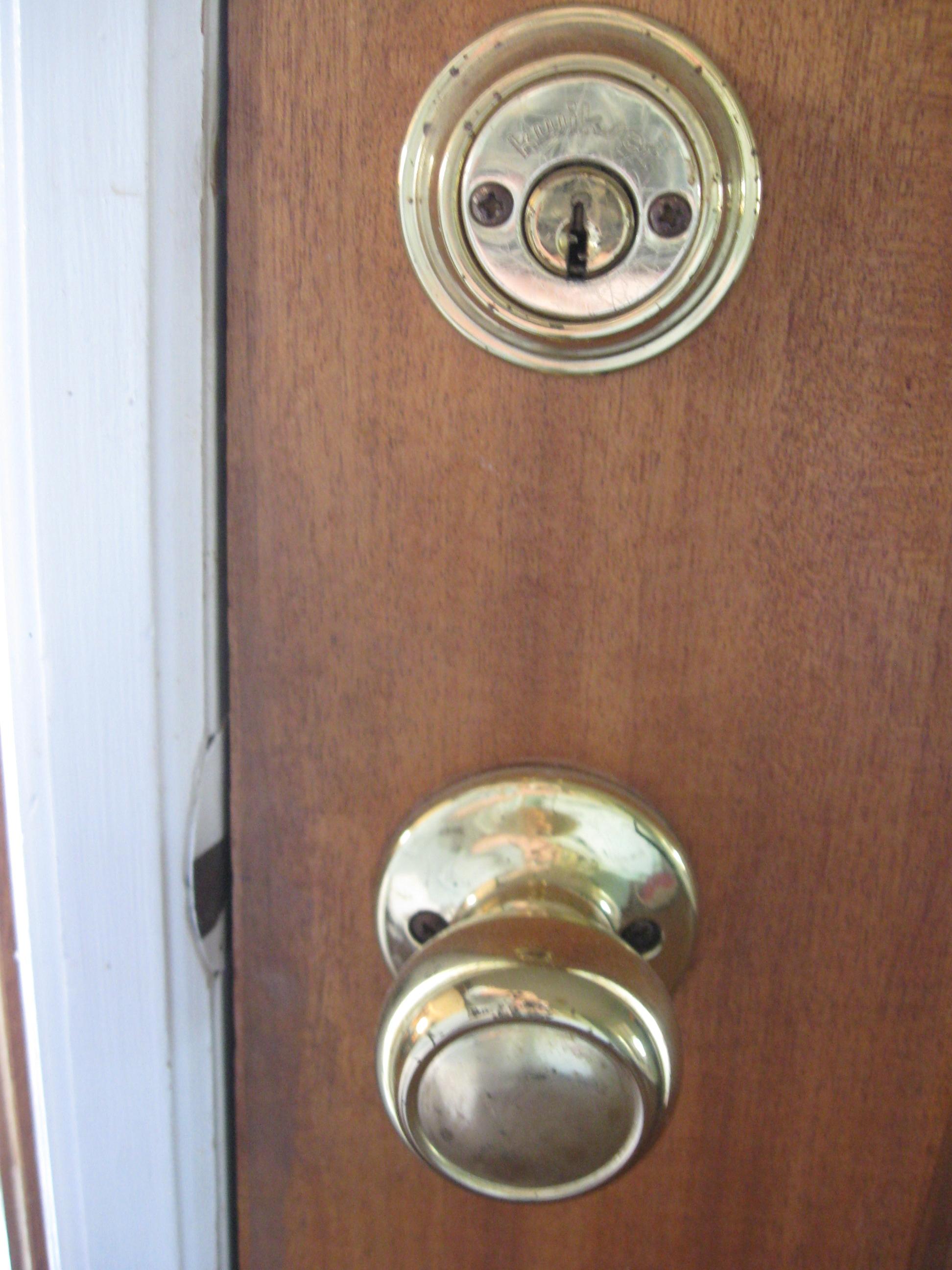 front door knob photo - 20