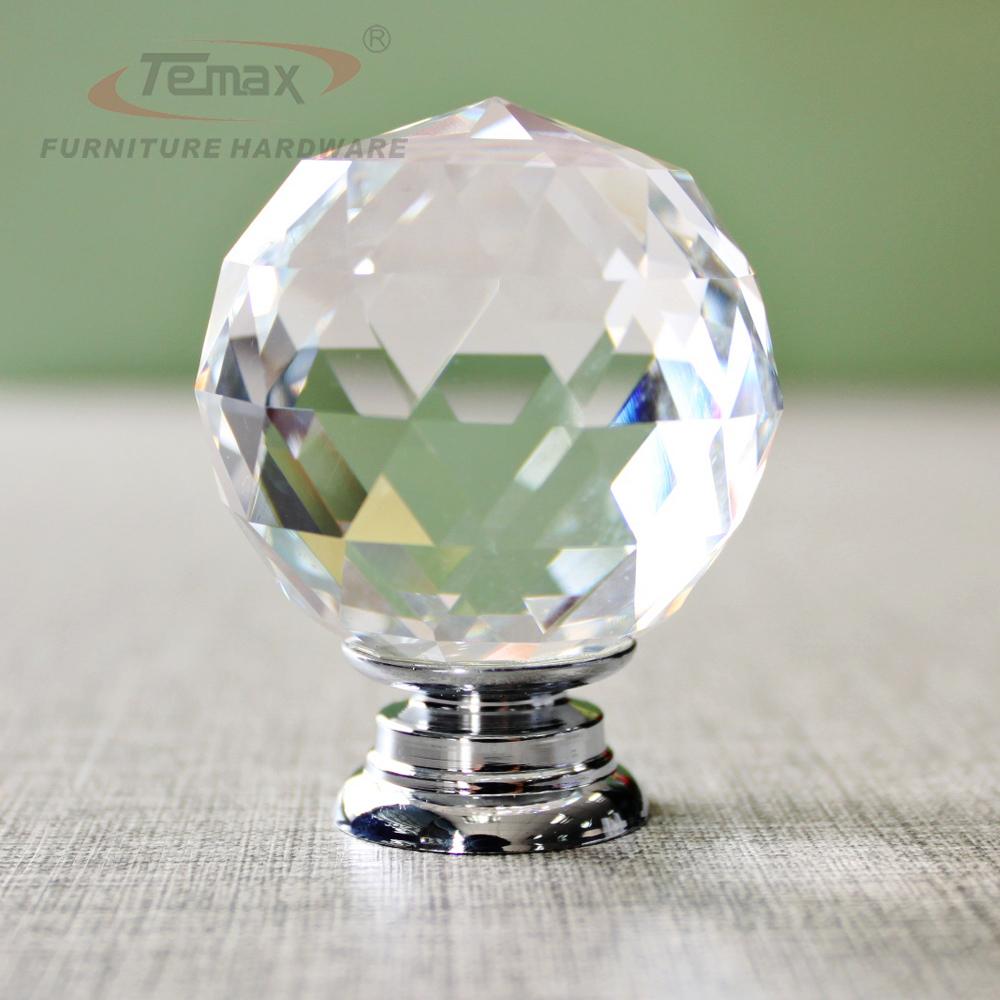 glass crystal door knobs photo - 10