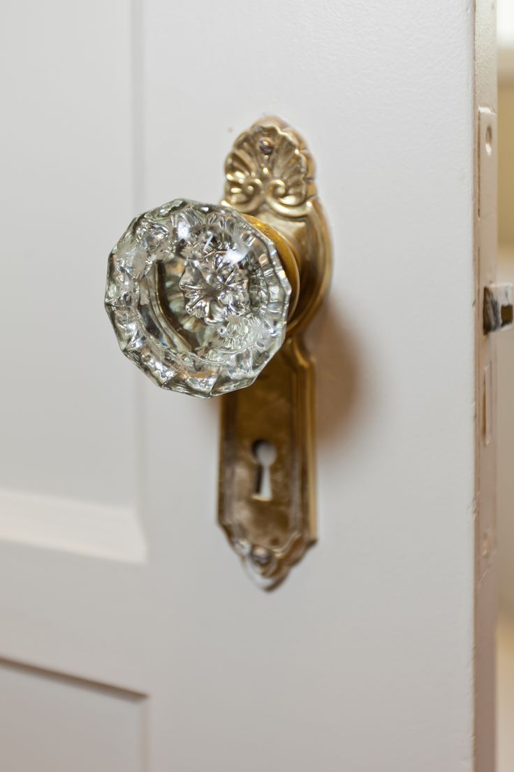 glass crystal door knobs photo - 14