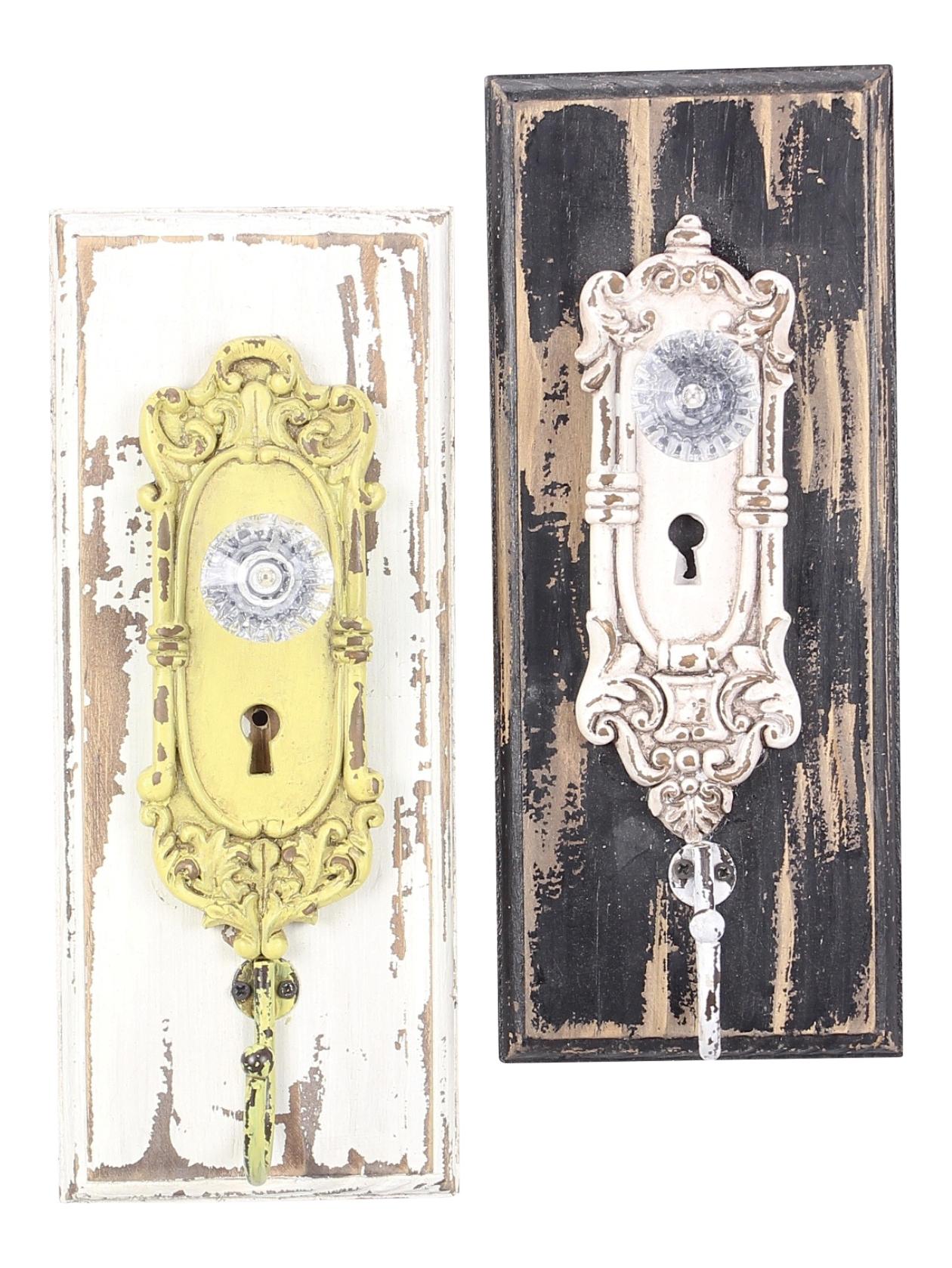 glass door knob hooks photo - 17