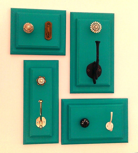 glass door knob hooks photo - 18