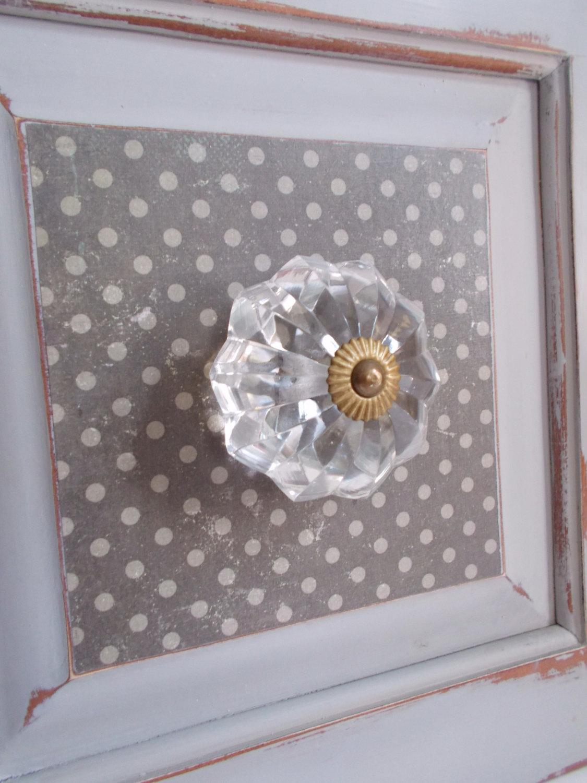 glass door knob hooks photo - 19