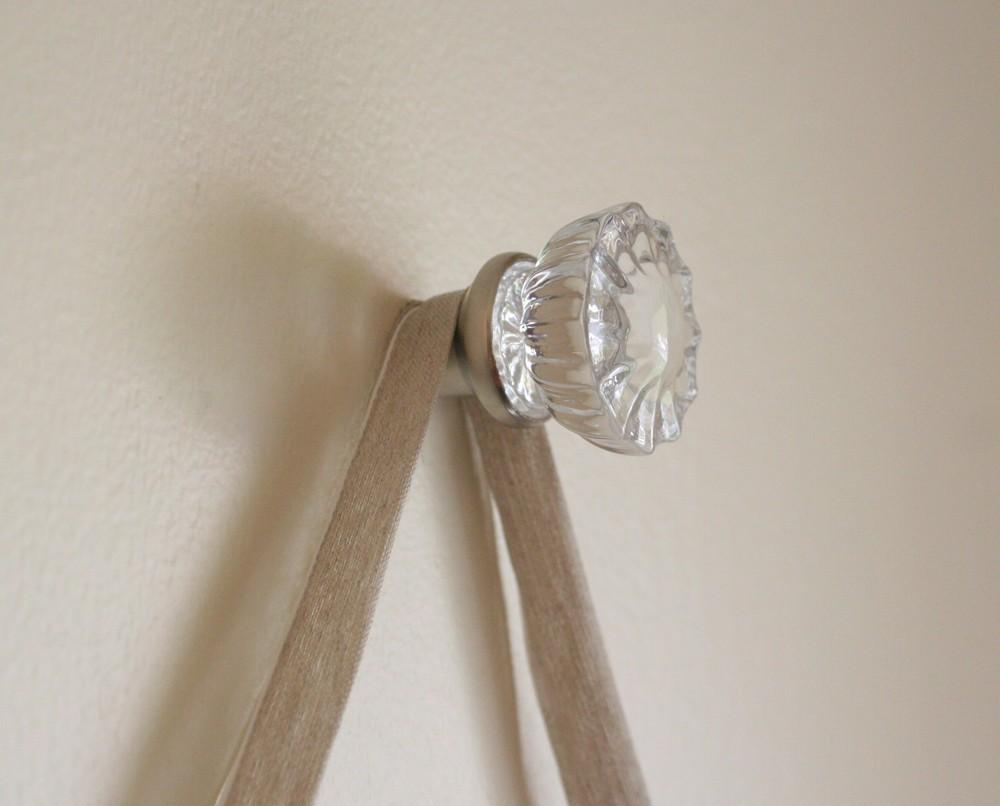 glass door knob hooks photo - 2