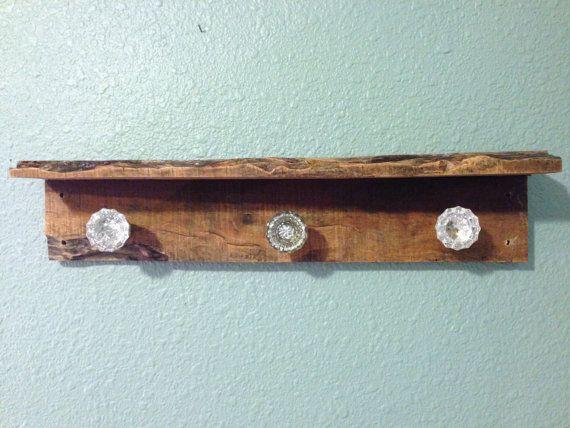 glass door knob hooks photo - 8