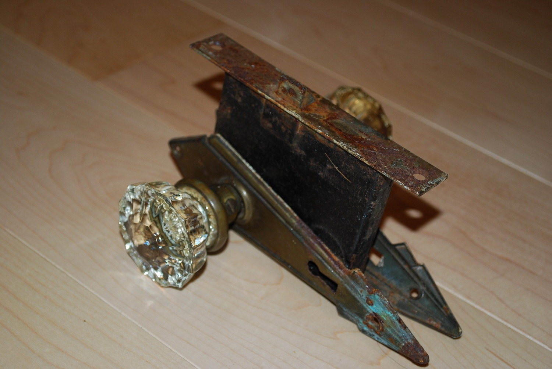 glass door knob sets photo - 12
