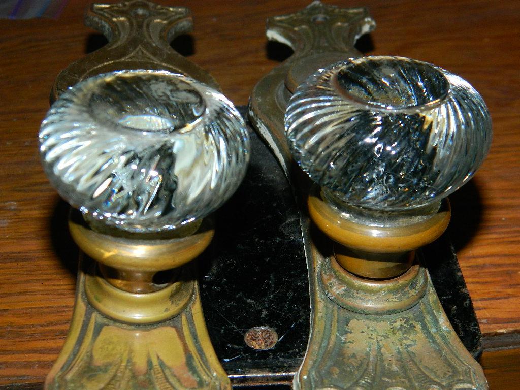 glass door knob sets photo - 16