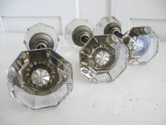 glass door knob sets photo - 3