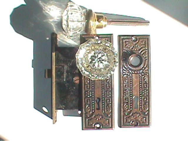 glass door knob sets photo - 9