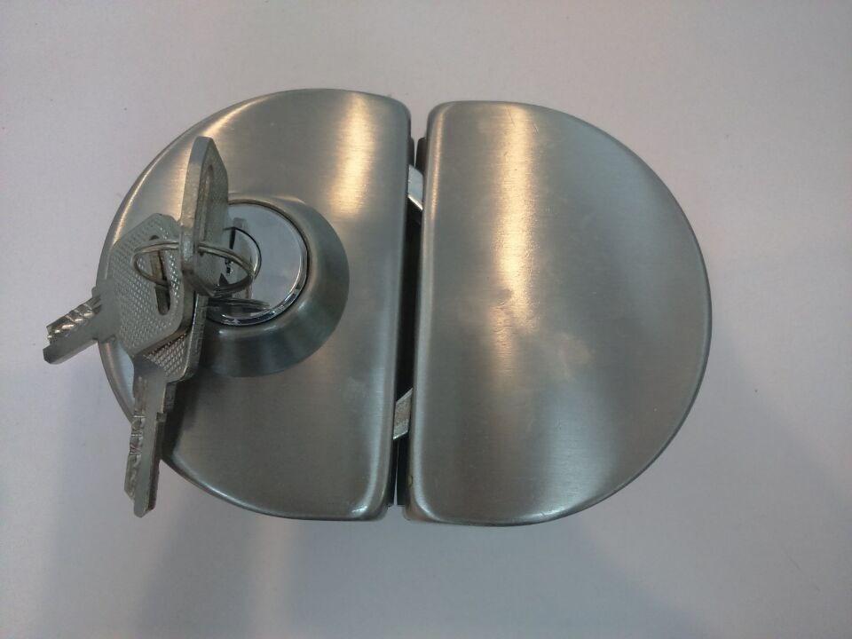 glass door knob with lock photo - 11