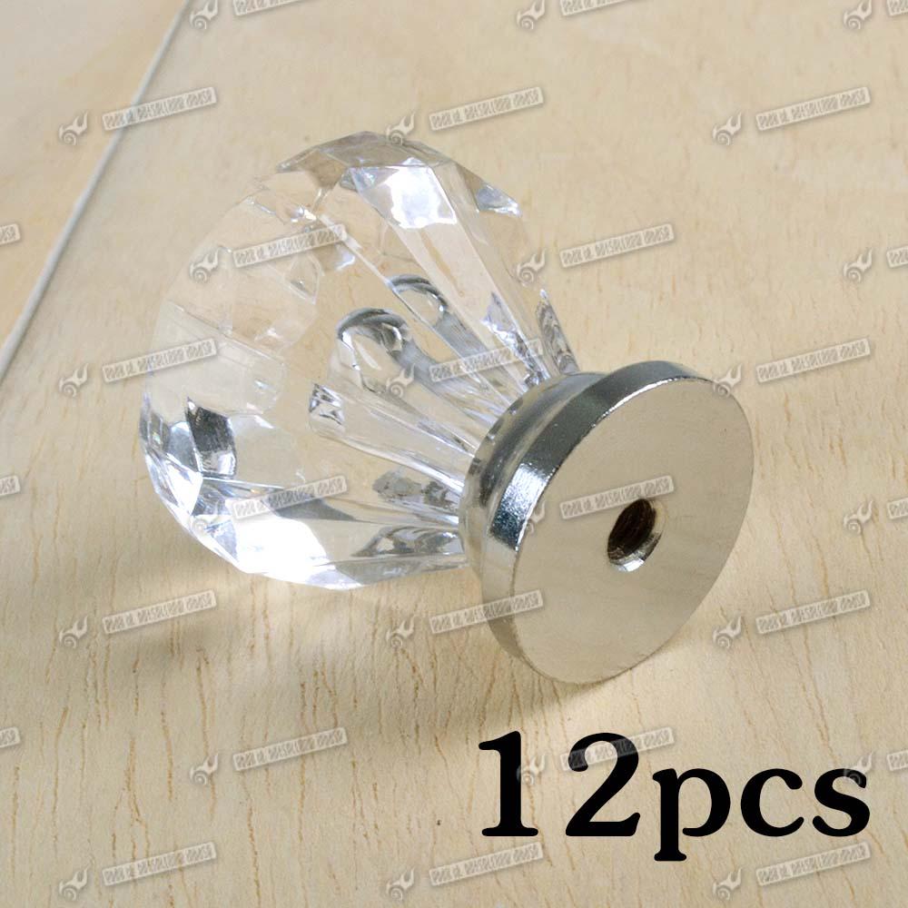 glass door knobs cheap photo - 3
