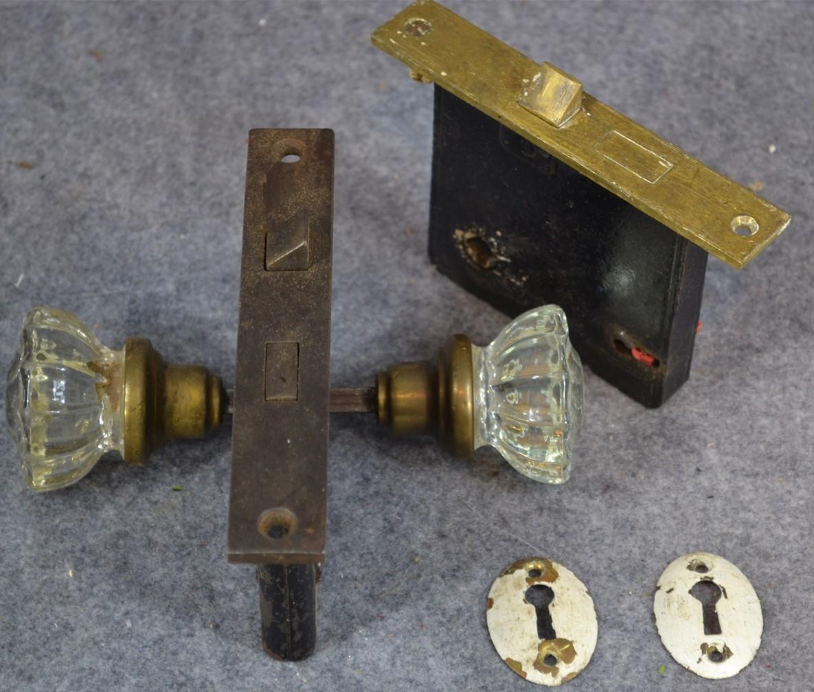 glass door knobs ebay photo - 19