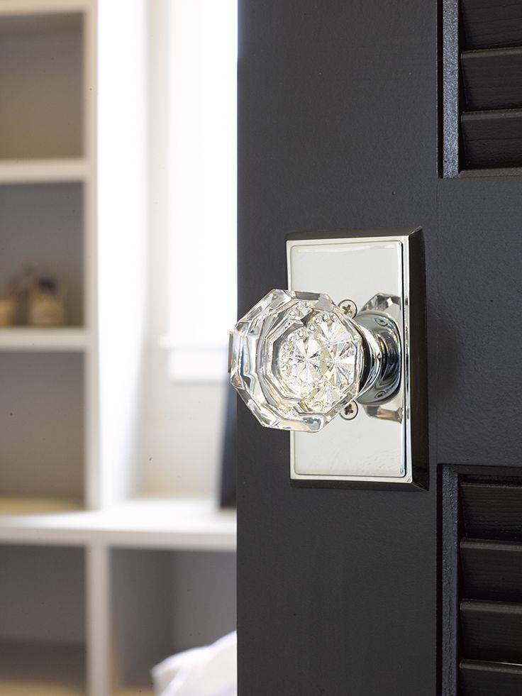 glass door knobs for modern doors photo - 20