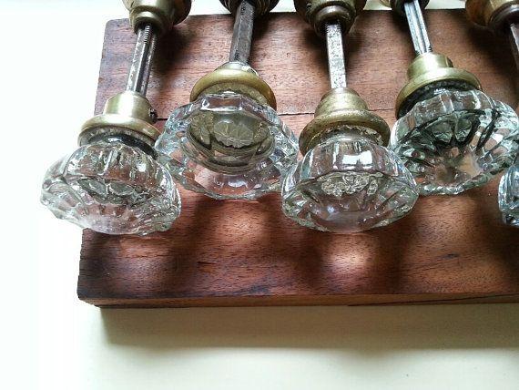 glass door knobs sets photo - 18