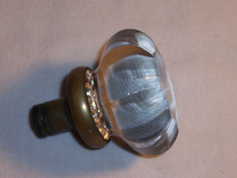 glass door knobs with lock photo - 14