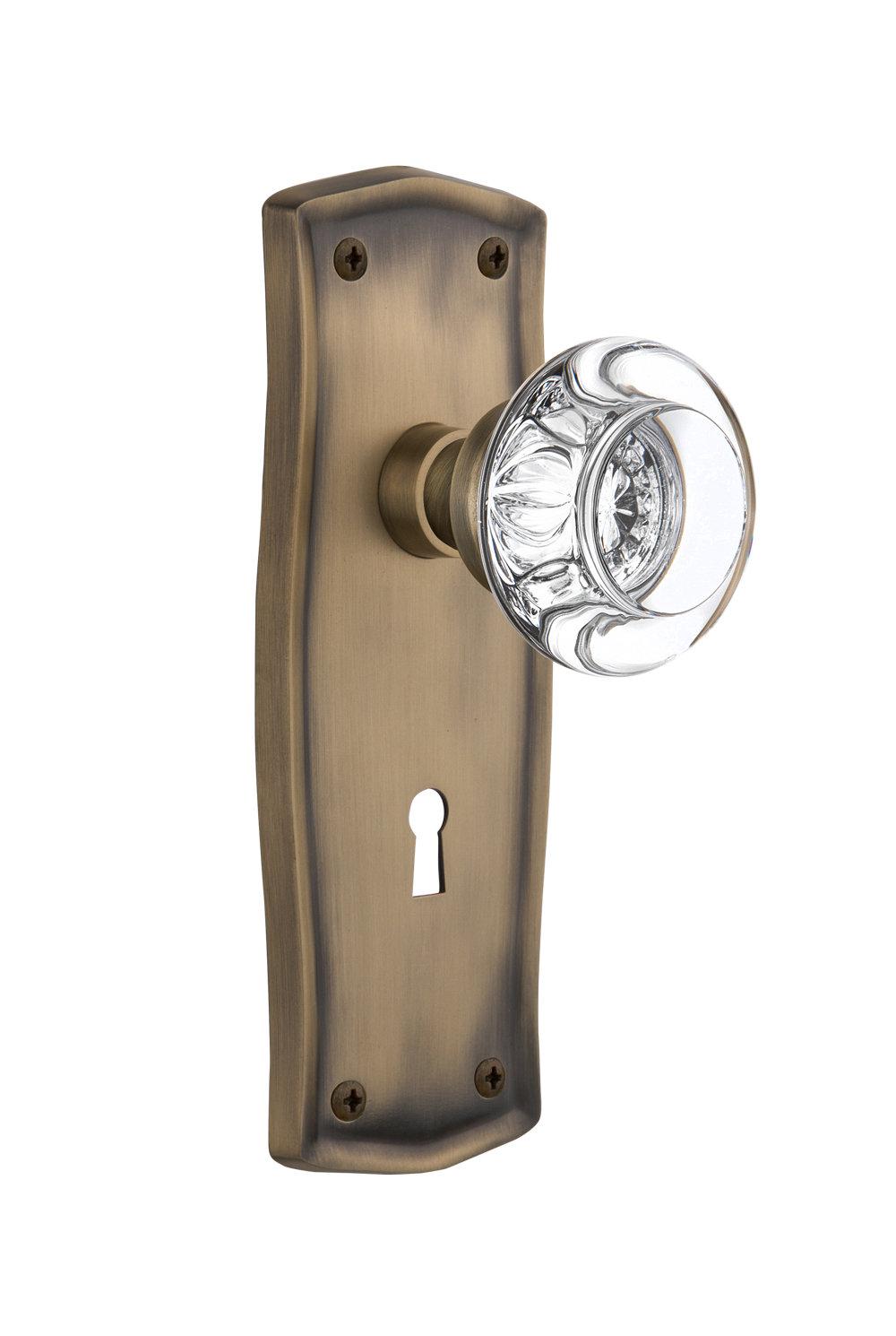 glass dummy door knobs photo - 7