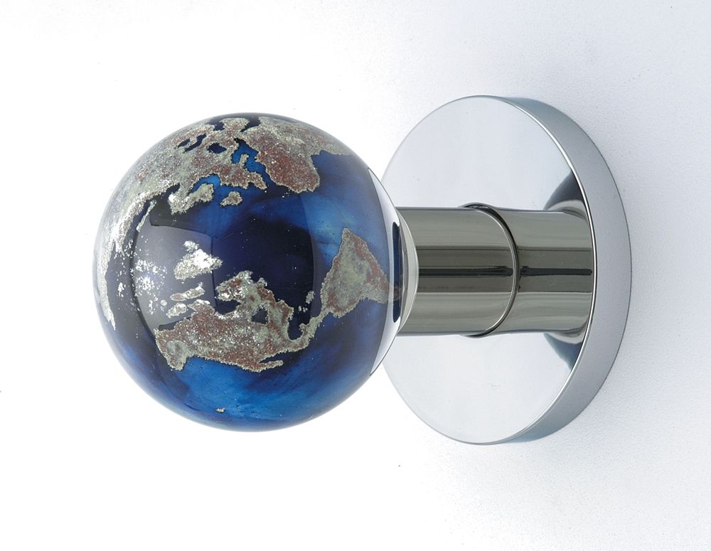 glass globe door knob photo - 1
