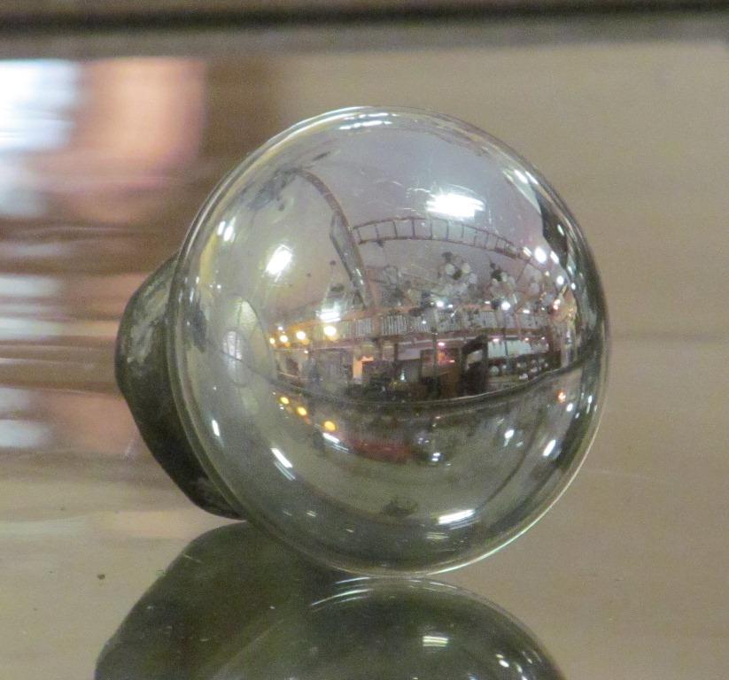 glass globe door knob photo - 12