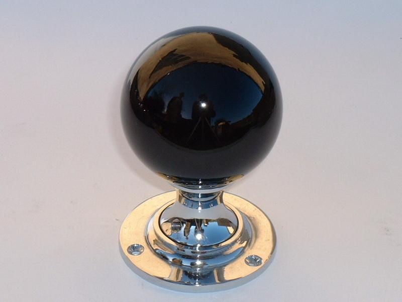 glass globe door knob photo - 16
