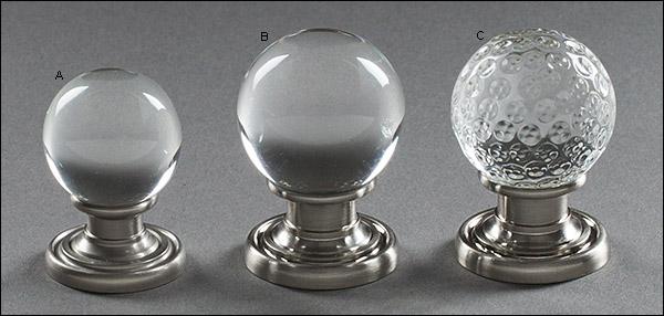 glass globe door knob photo - 17