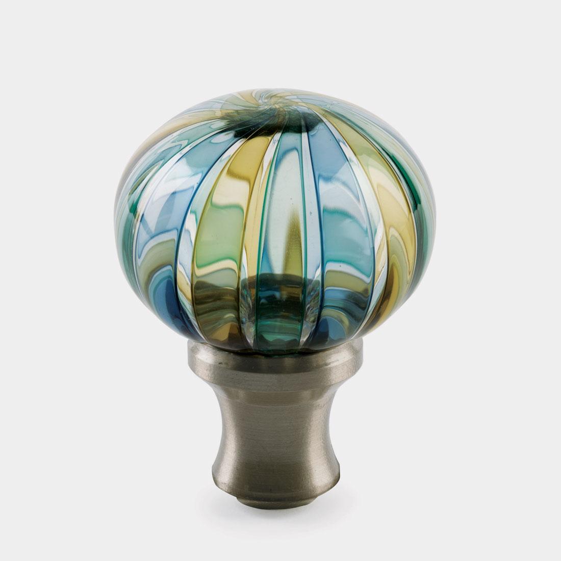 glass globe door knob photo - 2