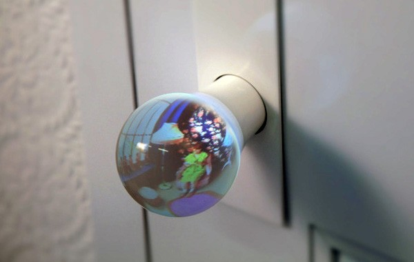 glass globe door knob photo - 4