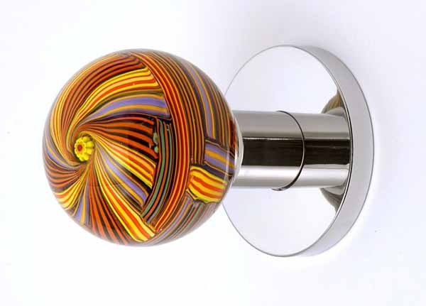 glass interior door knobs photo - 20