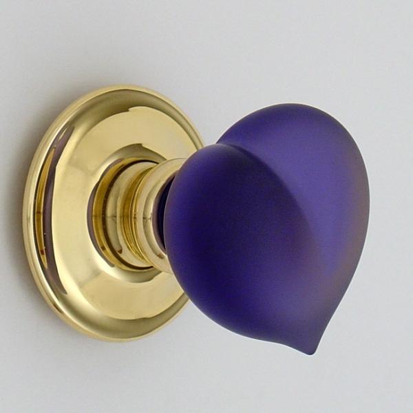 glass knob door handles photo - 1