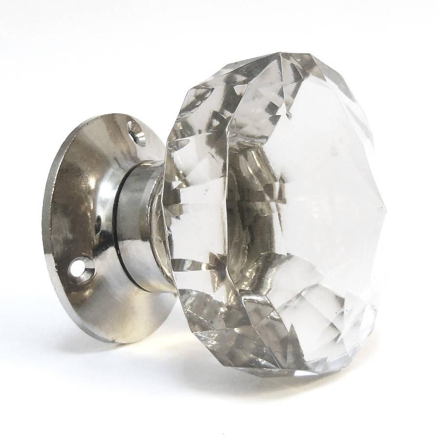 glass knob door handles photo - 7