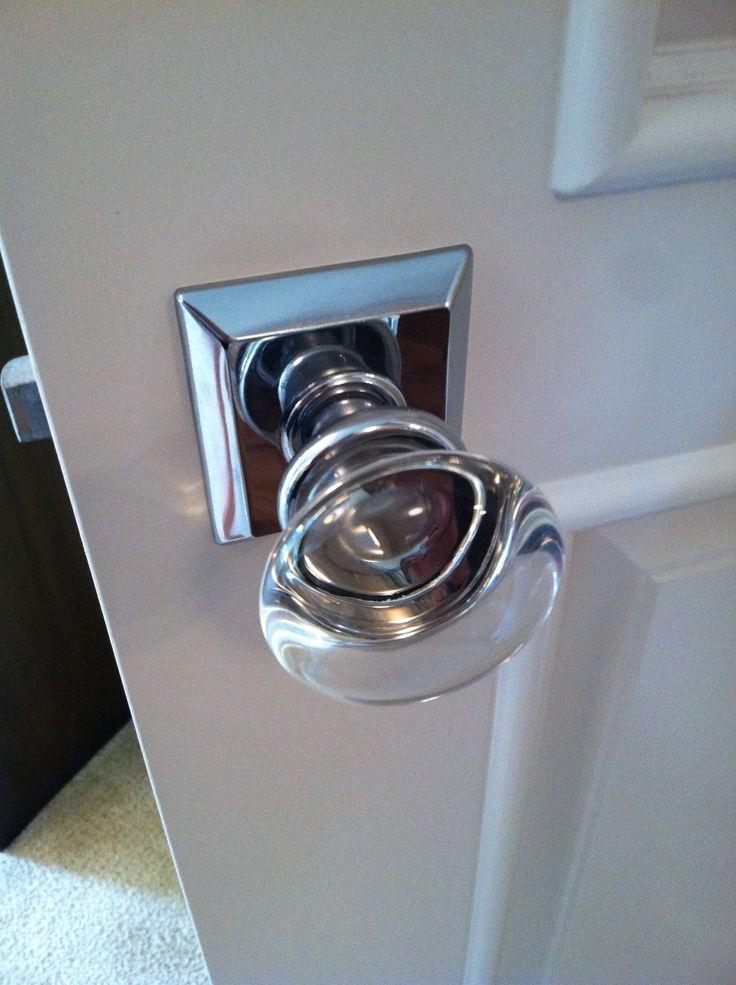 glass knob door handles photo - 9