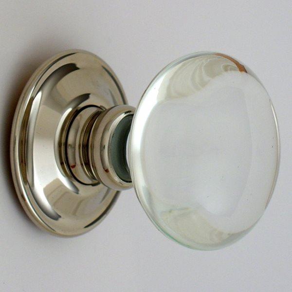 glass knob door hardware photo - 10