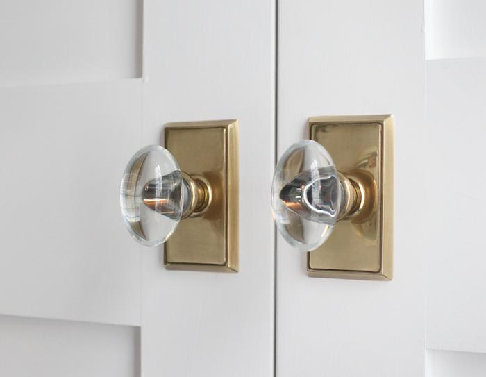 glass knob door hardware photo - 19