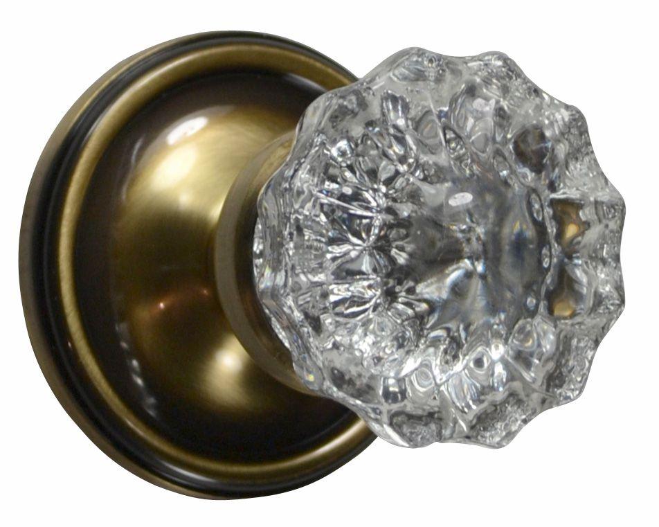 glass knob door hardware photo - 7