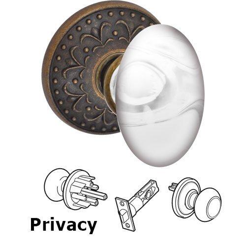 glass privacy door knobs photo - 12