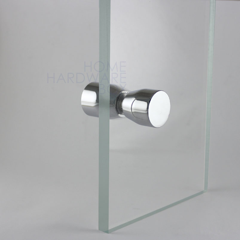 glass shower door knobs photo - 4