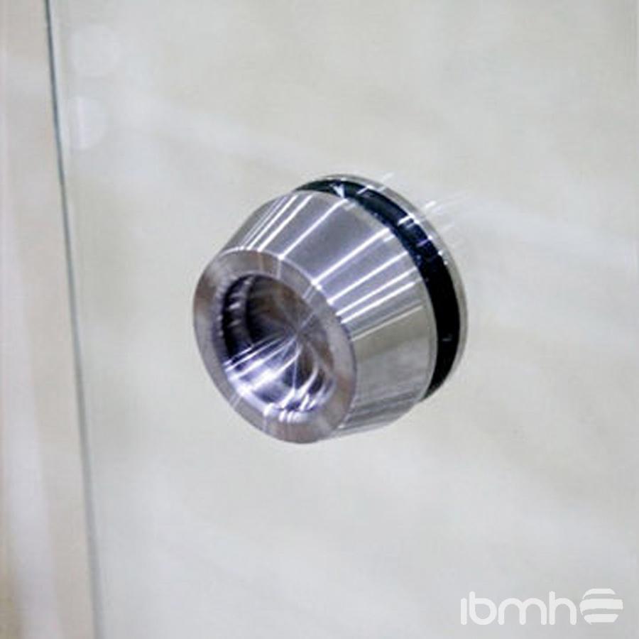 glass shower door knobs photo - 5