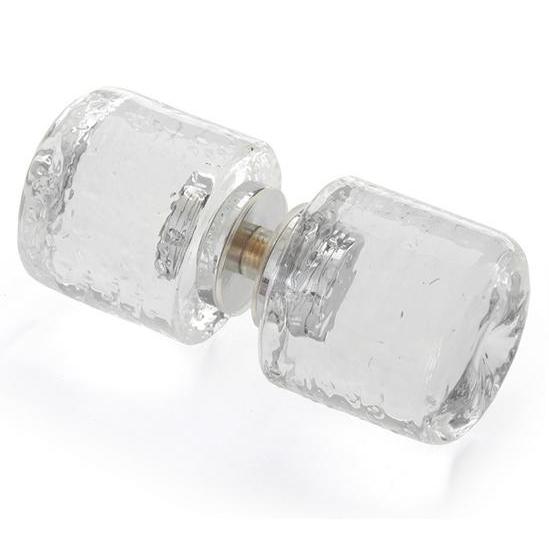 glass shower door knobs photo - 6