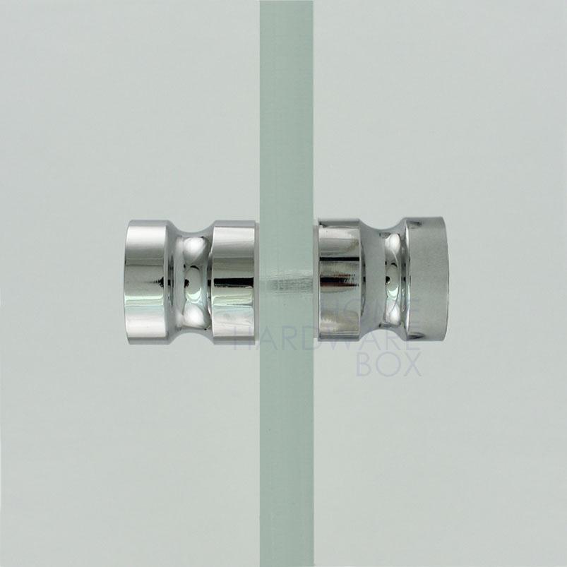 glass shower door knobs photo - 9