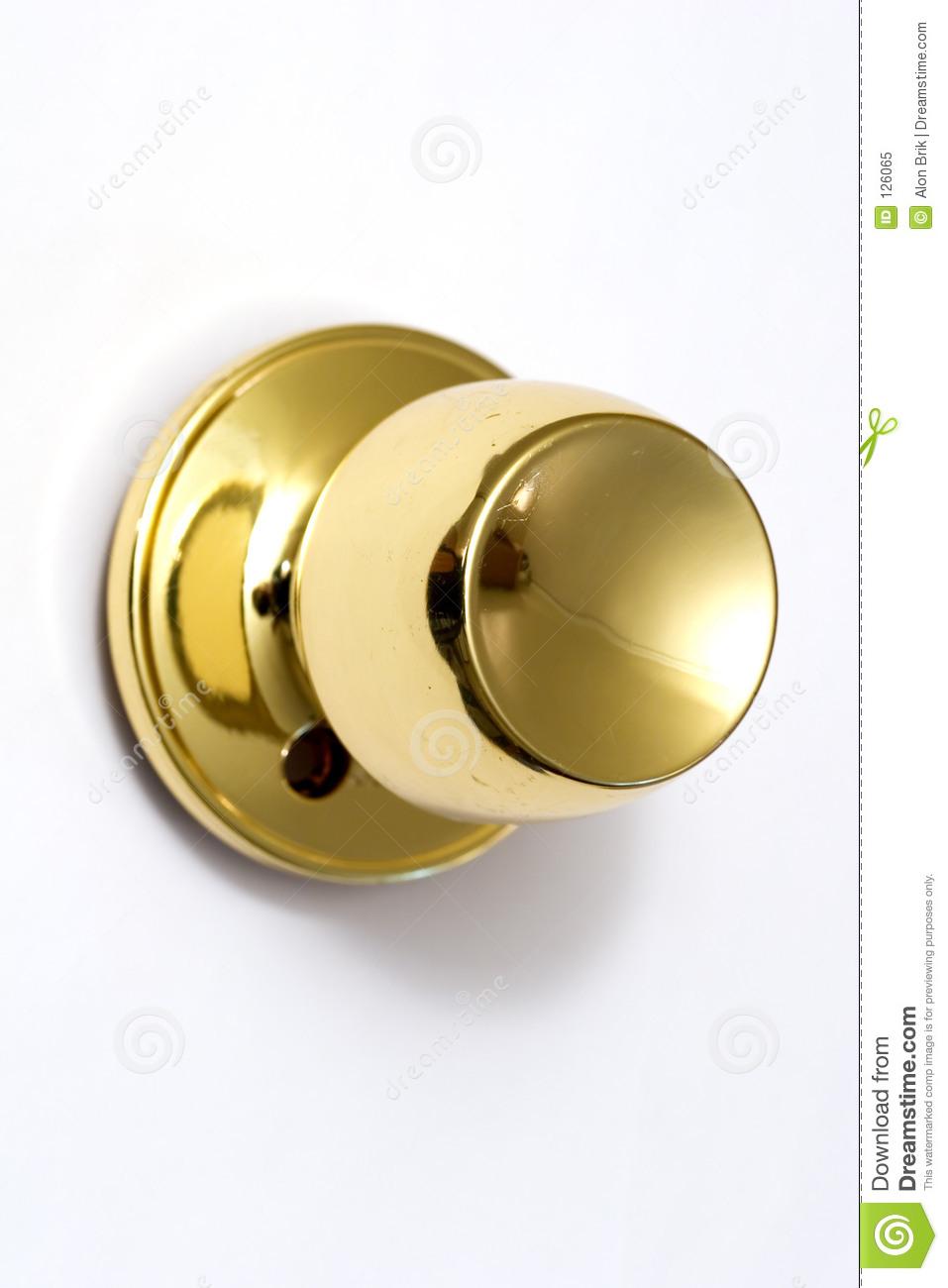 gold door knob photo - 10