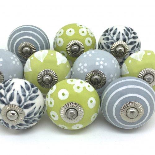 green door knobs photo - 20