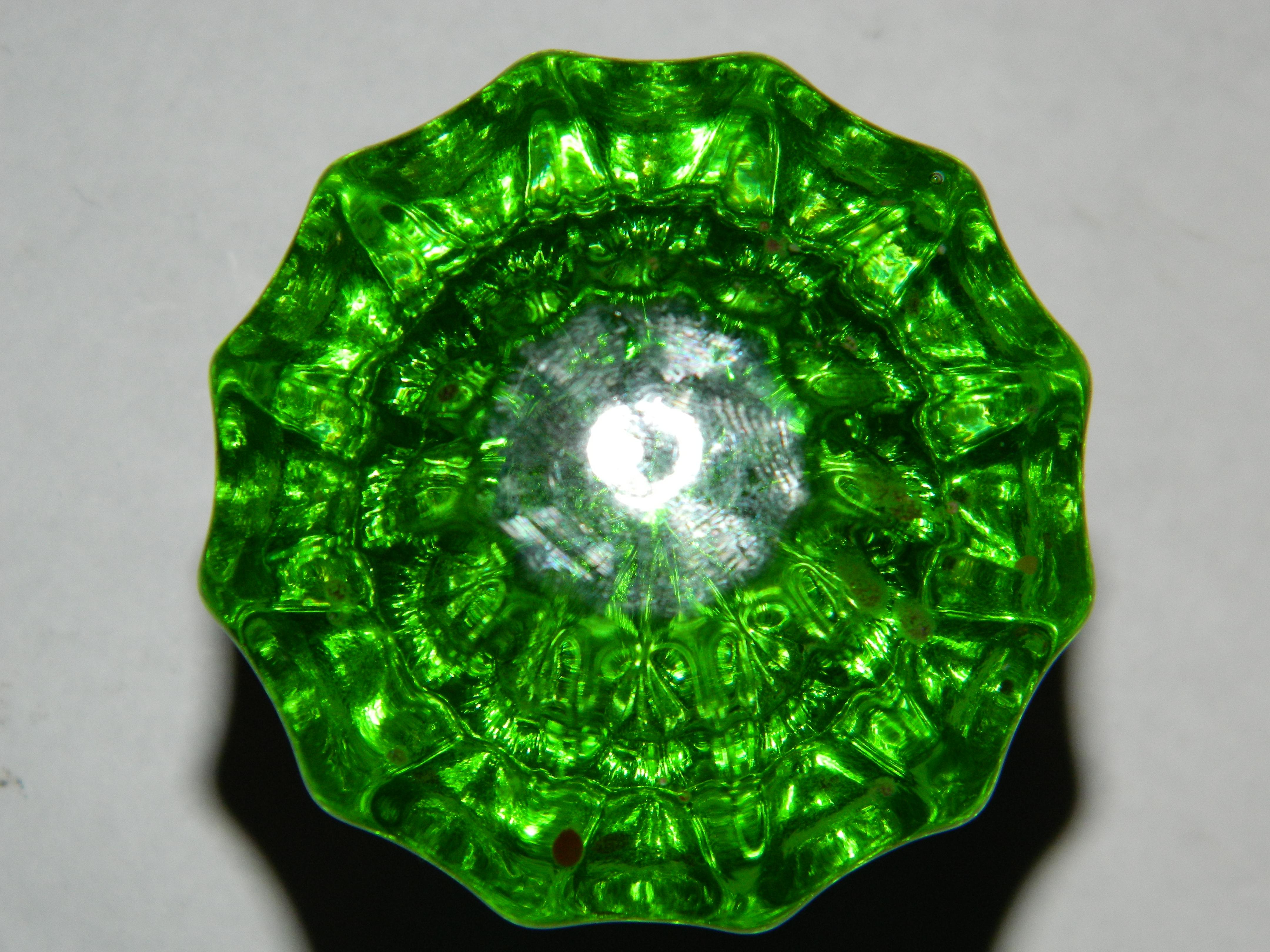 green glass door knobs photo - 19